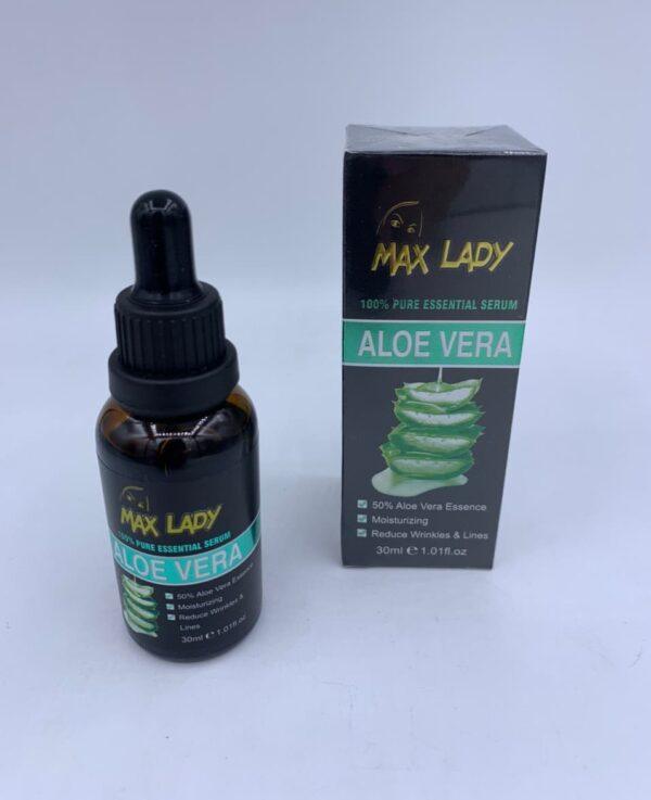 سرم ضد چروک مکس لیدی(آلوئه ورا) - Max Lady Anti-Wrinkle Serum