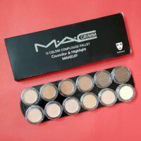 پالت گریم مک (کانسیلر و کانتور) - (Palette Grimm Mac (makeup